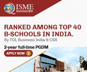 International School of Management Excellence - ISME, Bangalore