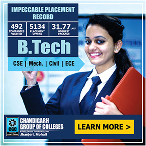 Chandigarh Group of Colleges - Jhanjeri
