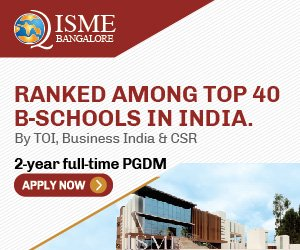 International School of Management Excellence - ISME, Bangalore