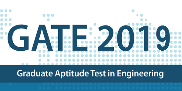 GATE 2019 Official Notification
