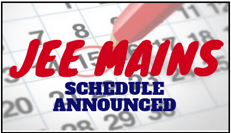 JEE-Mains 2019 schedule announced