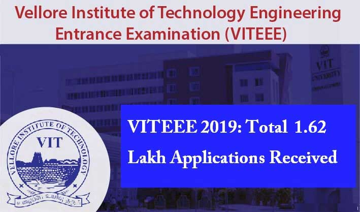 VITEEE 2019: Over 1 62 lakh candidates will take the