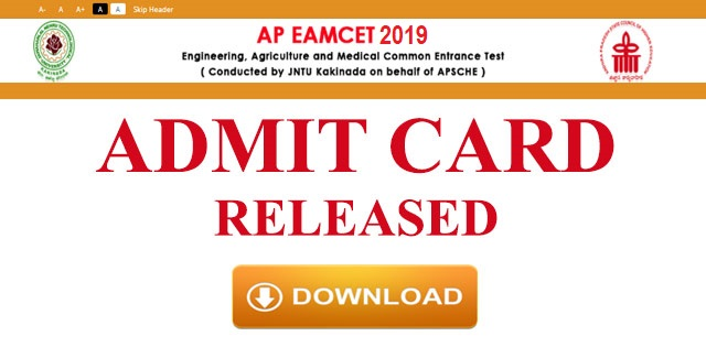 ap-eamcet-admit-cards-released