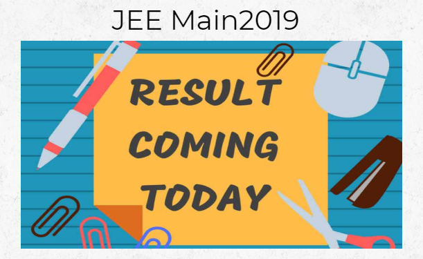 JEE Main Result Expected Today
