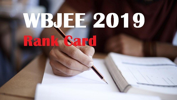 WBJEE 2019 Rank Card