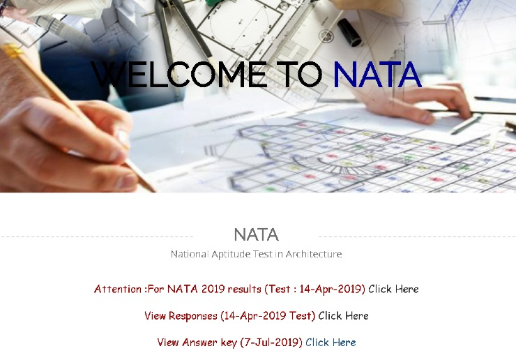 NATA Answer key 2019