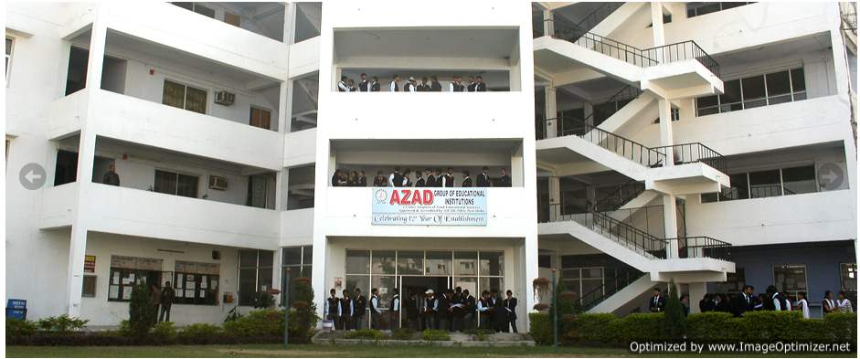 Azad Institute of Engineering & Technology (AIET)