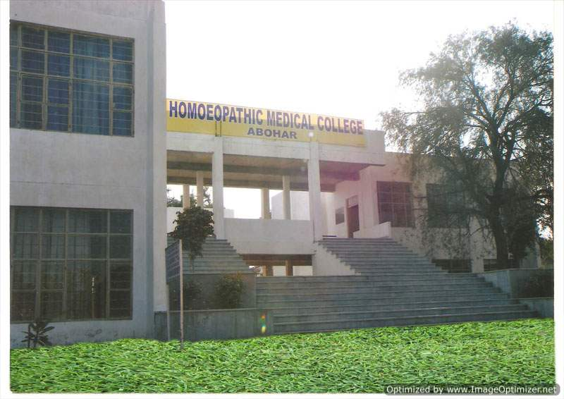Homoeopathic Medical College-Abohar