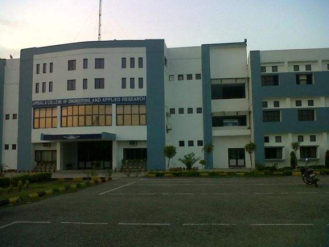 Ambala College of Engineering & Applied Research
