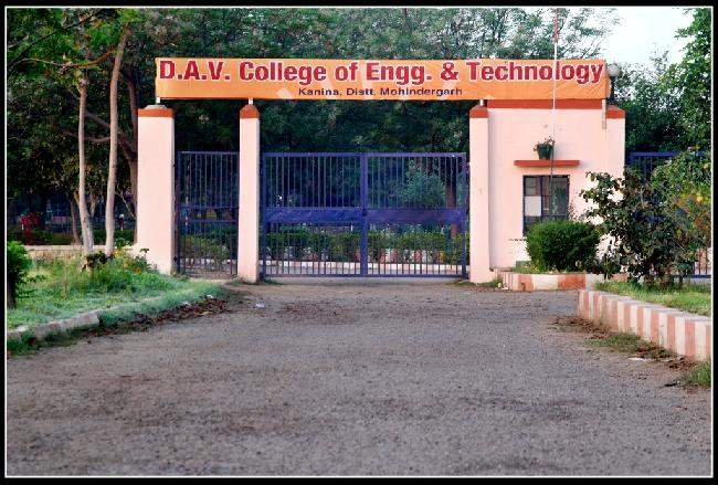 DAV College of Engineering & Technology
