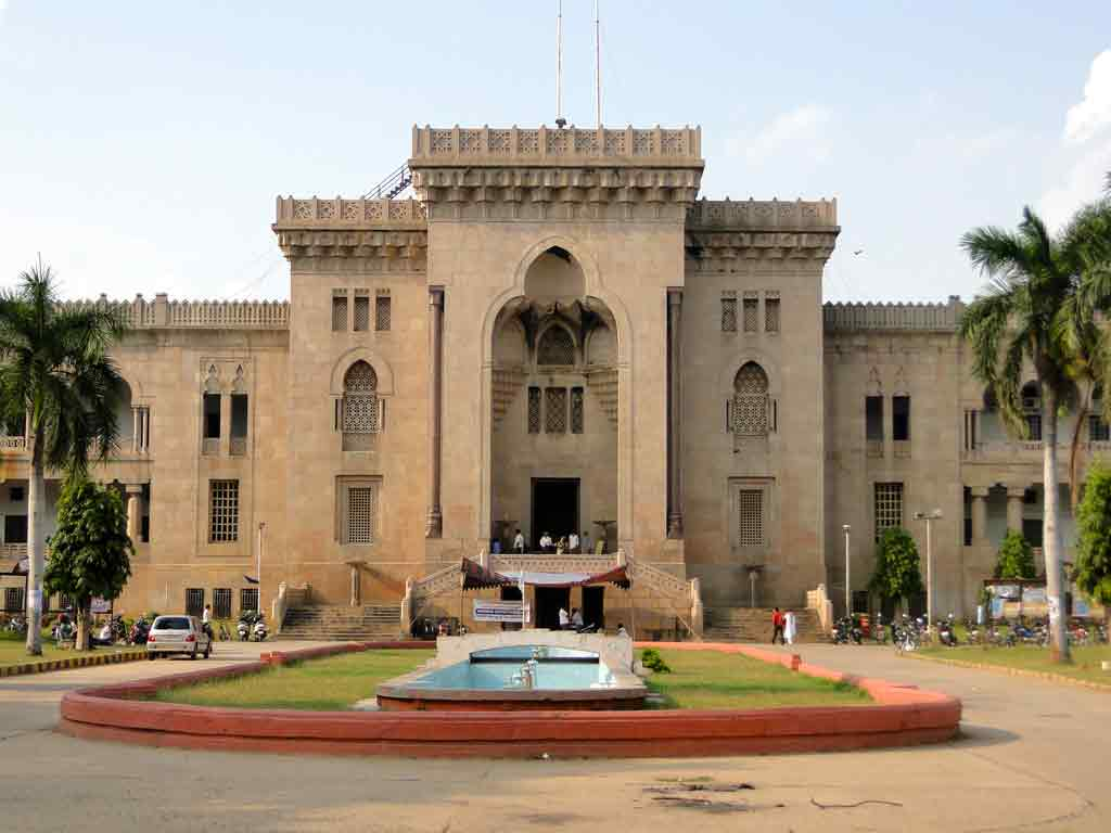 osmania university hyderabad courses fees affiliated colleges