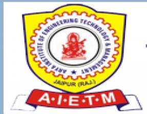 Arya Institute of Engineering Technology & Management (AIETM)