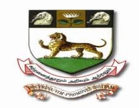 Department of Computer Science - University of Madras