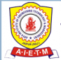 Arya Institute of Engineering Technology & Management (AIETM) Logo