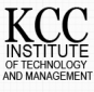 KCC Institute of Technology and Management logo