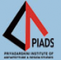 Priyadarshini Institute of Architecture & Design Studies Logo