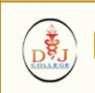 DJ College of Dental Sciences and Research Logo