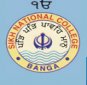 Sikh National College - Banga Logo