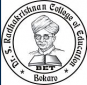 Dr S Radhakrishnan College of Education Logo