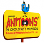 Anitoons The School of Animation Logo