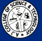 AJ College of Science and Technology Logo