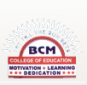 BCM College of Education