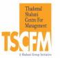 Thadomal Shahani Centre for Management (TSCFM) Logo