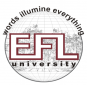 English and Foreign Languages University logo