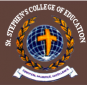 St Stephen College of Education for Women logo