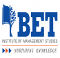 BET Institute of Management Studies Logo