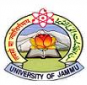 Department of Computer Science University of Jammu Logo
