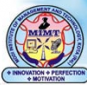 Modi Institute of Management & Technology logo