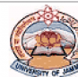 Department of Law - University of Jammu