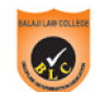 Balaji Law College- Pune logo