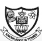 VLB Janakiammal College of Arts and Science Logo