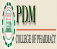 PDM College of Pharmacy Logo