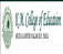KM College of Education Logo