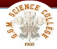 Govt Gandhi Memorial Science College Logo