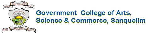 GOVERNMENT COLLEGE OF ARTS - SCIENCE & COMMERCE Logo
